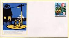 Sobre Conmemorativo 25 Aniversario Comisión Eléctrica 1963-1988. Papua Nueva Gui