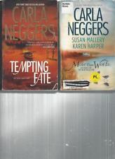 CARLA NEGGERS - TEMPTING FATE -  A LOT OF 2 BOOKS