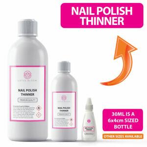 Nail Polish THINNER - Gel Nail Varnish Thinner PREMIUM QUALITY - All Sizes