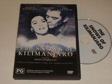 'THE SNOWS OF KILIMANJARO' 1952 Region All DVD - Gregory Peck, Ava Gardner