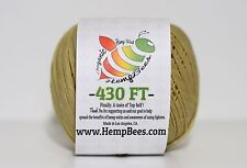 Organic HempBees Hemp Wick - 430 ft- 1mm / FREE SHIPPING - hempwick line lighter