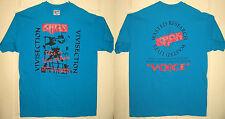 KAOS Shirt L 1991 NEW VINTAGE Vivsection Oakland Thrash Metal Band OOP RARE HTF