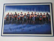 2001-02 Duke Blue Devils Team Autographed Poster 36� x 24�