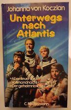 Buch Johanna von Koczian Unterwegs nach Atlantis Handsignierte Ausgabe