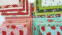 LITTLE SNIPPETS Bonnie and Camille Moda Quilt fabric Bundle - 22 fat quarters