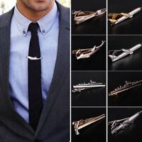 Sliver Metal Tie Clip Tie Clasps Necktie Pin Suit Jewelry Bar Men 1 PC