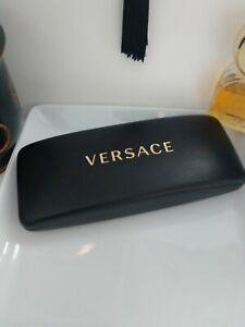 Versace Black Sunglasses Case glasses protective