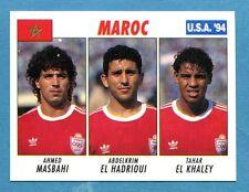 USA '94 - The Knight Figurina-Sticker n. 228 -MASBAHI#EL HADRIOUI#EL-MAROCCO-New