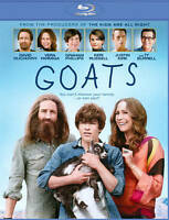 Goats (Blu-ray Disc, 2012)David Duchovny, Vera Farmiga (NEW)