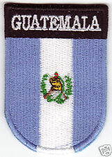 GUATEMALA Flag  Country Patch Shield Style