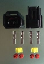 1 X conector de la bobina de policía en lápiz denso Enchufe Set CBR GSXR Hayabusa Bici LX38