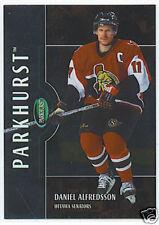 02-03 Parkhurst #95 Daniel Alfredsson Bronze #/100