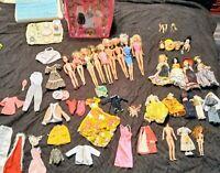 **HUGE LOT* of Vintage Barbie.. Dolls, Clothes, furniture & Accessories *Estate*