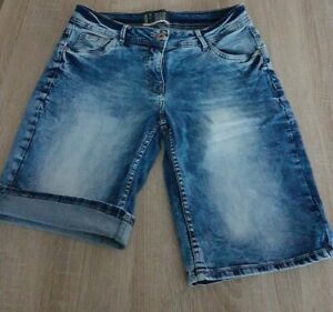 Cecil Scarlett Bermuda Shorts W28 Jeans