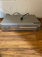 Emerson EWD2202 DVD/VCR VHS Combo Player No Remote/Tested & Working