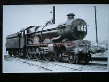 PHOTO  GWR  CASTLE 4-6-0 7031 'CROMWELL CATLE' AT PLYMOUTH LAIRA 6/58