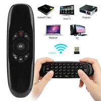 C120 2.4G Wireless Air Mouse Keyboard Remote Control for PC/TV/Android/Linux