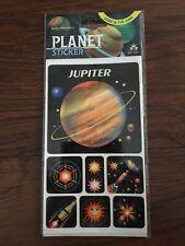 Planet Sticker Jupiter GLOW IN THE DARK Solar System Decor