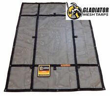 RipProof Cargo Mesh Tarp- Extra Large (XMT-100) | By Gladiator Cargo Gear