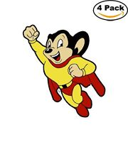 Mighty Mouse Vinyl Decal Sticker Comic Superhero 4 Stickers