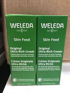 Weleda Skin Original Ultra Rich Cream 2.5 oz (2PK BUNDLE) EXP 10-22