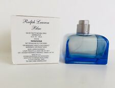 RALPH BLUE Ralph Lauren Women Perfume EDT 4.2oz 125 ml Spray IN WHITE TESTR BOX