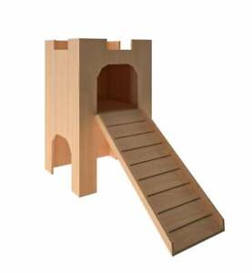 Rabbit tower house Hideout Hideaway Hutch small animal exercise playhouse toy