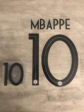Flocage équipe de FRANCE  MBappe 10 ⭐️⭐️ Exterieur .