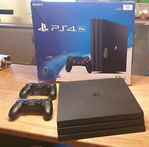 Sony PlayStation 4 Pro - 1TB Jet Schwarz Spielekonsole