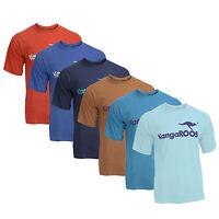 Neu KangaROOS T-Shirt mit Großem Logo 6 Farben Gr. M, L, XL oder XXL