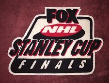 Rare 1995 Fox NHL Stanley Cup Finals Broadcast Crew Hockey Jacket Chenille Patch