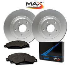 [Rear] Rotors w/Metallic Pads Geomet OE Brakes (2013 - 2017 Camry ES300 ES300H)