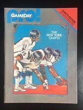 Ny Giants Vs Ny Jets 1981 Pro Gameday Program Lawrence Taylor Rookie Nm Stadium