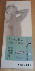 KLUDI ALMERA SHOWER IN A BOX E.V. THERMOSTATIC SHOWER SET NEW 652750500