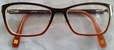 NINE WEST FRAMES only NW1043 261 hombre brown eye glasses