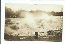 Real Photo Postcard Post Card Sioux Falls South Dakota SD S D High Water