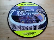 """Rolling Stones 1989 Steel Wheels Press Conference 10"""" PICTURE DISC Vinyl Record"""