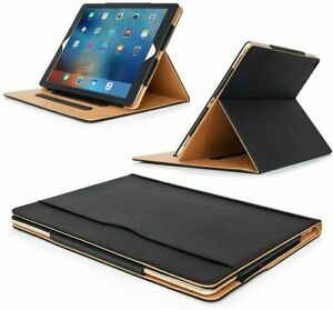 """Genuine Leather TAN Magnetic Case Cover For Apple iPad Pro 12.9"""" 2017/2015/2016"""