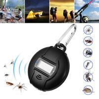 Portable Ultrason Solaire USB Insecte Nuisibles Moustique Fly Répulsif Extérieur
