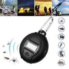 Portable Ultrasonic Solar USB Insect Pest Mosquito Fly Repeller Outdoor Compass