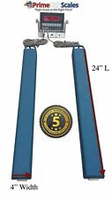 """24"""" Bar Scale 2,500 lb Livestock Scale Cattle Scale with Software"""