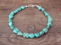 Navajo Indian Hand Strung Turquoise Bracelet - Jake