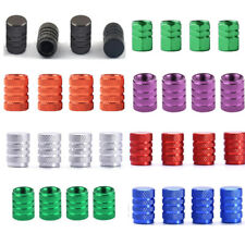 4x Wheel Tyre Tire Valve Stem Air Dust Cover Screw Cap Car Truck Bike 7 colors