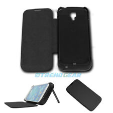 3500MAH EXTERNAL BACKUP BATTERY POWER BANK CASE COVER BLACK SAMSUNG GALAXY S IV