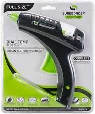 Dual-Temp Full Size Cordless/Corded Hot Glue Gun Black 018239359271