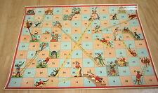 Old c.1900 Antique French  Game PRINT - Miaou-Maiou - CATS - Meow-Meow