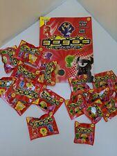 Gogo Crazy Bones Collection Game /card bundle.  Album 9x3 + sticker & 10x1 + sti
