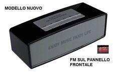 CASSA WS-637 PORTATILE BLUETOOTH POTENTE per SMARTPHONE PC SPEAKER ALTOPARLANTE