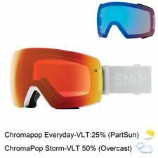 Smith Ski Goggles IO MAG White Vapor ChromaPop Everyday Red Mirror Rose Flash