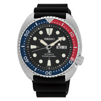 Seiko Prospex Turtle Pepsi 45 MM Stainless Steel Automatic Watch - SRP779K1